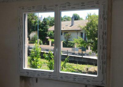 pose fenêtre pvc loire