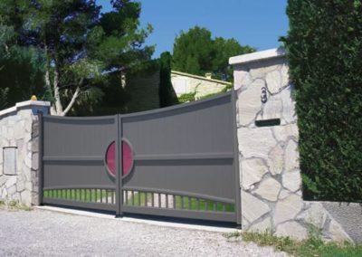installation portail clôture sur mesure Loire